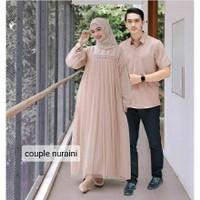 Baju Couple Nurni Couple Gamis Muslimah Model Casual Terkini