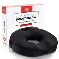 Donut Pillow Tailbone Hemorrhoid Seat Cushion - Orthopedic Pain Relief
