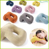 Bantal Bolong Multifunction untuk Tidur Dikantor