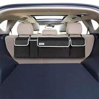 Julema Backseat SUV Trunk Organizer, Car Back Seat Hanging Storage Org