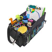 ECWKVN Car Front & Back Seat Organizer with Tissue Box, Car Seat Organ