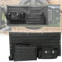 Yoursme Tailgate Bag Case Cover Black Storage Pockets Tool Kit Organiz