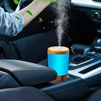 Car Diffuser Essential Oil Humidifier, USB Plug in Mini Portable Aroma