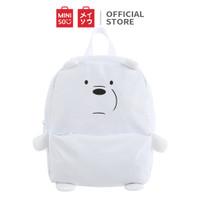 MINISO We Bare Bears Tas Ransel Backpack Tas Punggung Simple Serbaguna