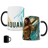 DC Comics - Aquaman - Arthur Curry and Trident - One oz Morphing Mugs