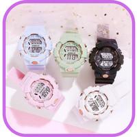 Jam Tangan Anak Perempuan anti air jam tangan digital rubber premium