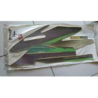 striping stiker polet body lis honda GL Pro neotech 1997 97 ungu hijau