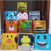 TAS Tenteng Animal Spunbond Goodie Bag Bingkisan souvenir Ulang Tahun
