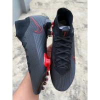 TERB4RU Sepatu Bola Nike Mercurial Superfly VII Lightning Black Red FG