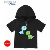 Baju dinosaurus Cute Baju Hoodie Anak 100% Original #KDA-87 - ANAK - S