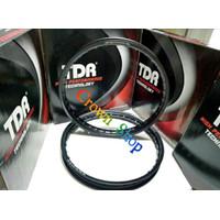 Velg TDR ring 17 model kotak W shape lebar 140-160 ring 17 isi dua bi
