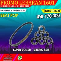 PROMO Paket Super Roller & V Belt BRT Honda Beat Fi ESP Street Pop oke
