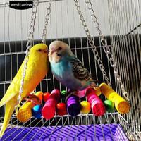 Pet Bird Parrot Parkit Budgie Cockatiel Kandang Hammock Ayunan