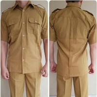 Sale Baju Seragam Khaki Pdh Pns/Pemda/Guru/Pria/Laki Dongker