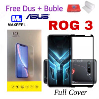 TERBAIK MAXFEEL Tempered Glass Asus Rog Phone 3 Full Cover Full Glue P