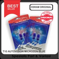 Lampu Senja Sen T10 Autovision Natural Blue 12v/6w Microzen
