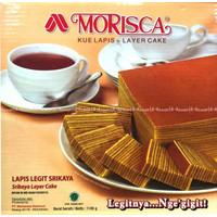 Morisca Lapis Legit Sarikaya Moriska Layer Cake siap Saji Lapislegit