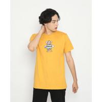 Kaos Pria Erigo T-Shirt River Rat Cotton Combed Mustard