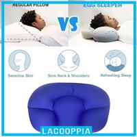 Lacooppia Bantal Memory Foam 3d Penyangga Leher Bayi Tidur