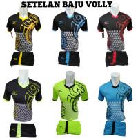 SetelaN Baju Kaos Volly Batik Futsal Jersey gym Sepak bola Tim