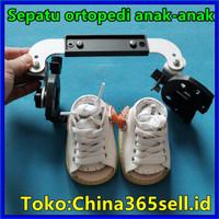 Tool Sepatu ortopedi anak Kaki anak Sepatu Dennis Koreksi kaki peng