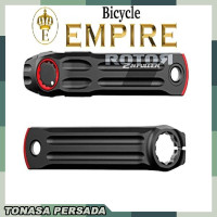 TNSPD Crank Arm Crankarm ROTOR Brand 2INPower 170mm Bicycle Empire