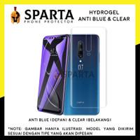 HYDROGEL ANTI BLUE SAMSUNG J8 PLUS ANTI GORES DEPAN BELAKANG SPARTA