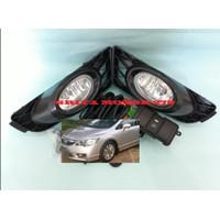 Fog Lamp Lampu Kabut Honda Civic FD 2009 2010 2011 Komplit