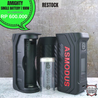 Promo ASMODUS AMIGHTY MOD 100W AUTHENTIC BY ASMODUS Limited