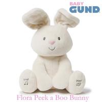 Gund Baby Flora The Bunny Peek A Boo doll - rabbit - Original