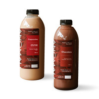 Cappuccino 1L + Chocolate 1L (Khusus Kurir Instant/Same Day)