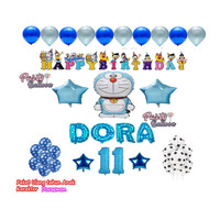 Paket Dekorasi Ulang Tahun Anak Tema Doraemon PES4135