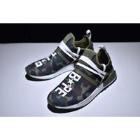Sepatu Sneakers Desain Adidas Nmd-330 Hu Xr1 X Bape Oem Premium