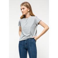 Colorbox Cotton T-Shirt I:Tskbsc521O504 Lt. Grey