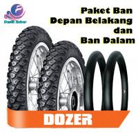 Paket Ban FDR Matic Dozer Tubetype Luar Dalam 80/90-14 & 90/90-14