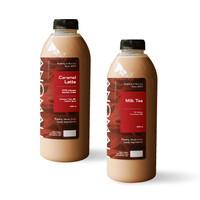 Flavored Latte 1L + Milk Tea 1L (Khusus Kurir Instant/Same Day)
