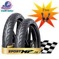 Paket 2 Ban FDR Matic Sport MP 76 Tubeless Free Pentil 90/80-14