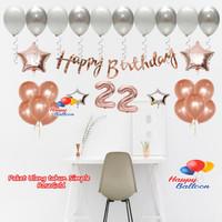 Paket Ulang Tahun Murah / Dekorasi Ultah / Ulang Tahun Simple PES4640