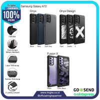 Ringke Samsung Galaxy A72 Fusion X Onyx Softcase Military Anti Crack