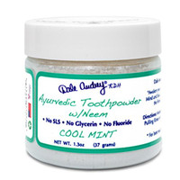 Ayurvedic Toothpowder w/neem (1.3 oz, Mint)