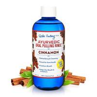 Dale Audrey   Oil Pulling Oil, Natural Mouthwash   Ayurvedic, Cinnamon