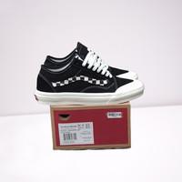 Sepatu Vans Oldskool Decon SF Black White List Checkerboard Catur