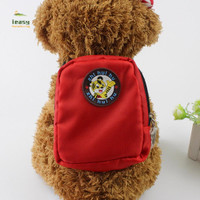 Dog Backpack Harness Leash Mini Bag Dog Harness Puppy Collar Chest