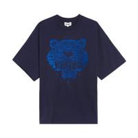 Kenzo Oversized Tiger T-Shirt Navy Man