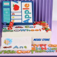 Mainan Edukasi Anak Game Belajar Susun Kosakata Spelling Game Apple