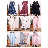 Lil little Sarah dress Lil Luna Ariel Zahra Pajamas Atelier Angelina A