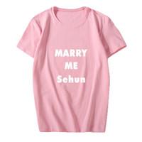 Jn856 Kaos T-Shirt Pria / Wanita Motif Tulisan EXO SEHUN Concert