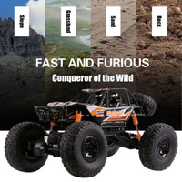 1:10 RC Monster Truck Buggy Off-Road Vehicle 2.4G Remote Control Car