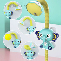 Bath Toys Baby Water Game Elephant Model Faucet Shower Electric