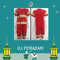 READY BURUAN ORDER Setelan Baju Pemadam Kebakaran Anak Laki Laki .